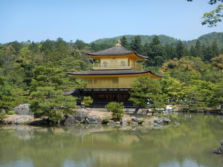 Japan Kyoto Golden pavilon