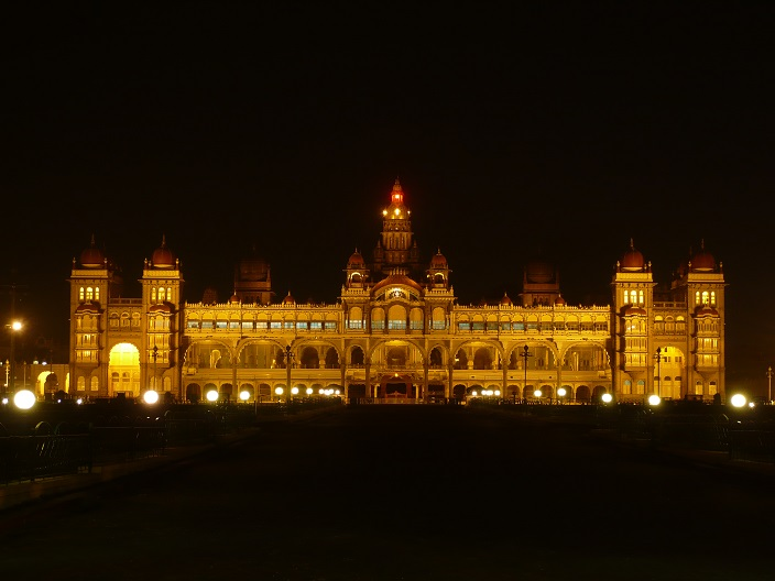 India Mysore sultan palace