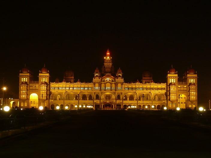 India Mysore sultan palace